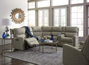 Catalina Sectional by Flexsteel Living Room Furniture Chattanooga
