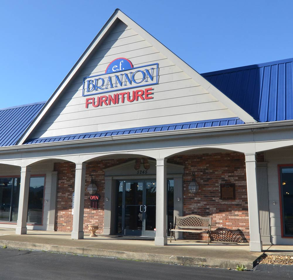 Chattanooga furniture store EF Brannon features an array of quality furniture for your Chattanooga home.