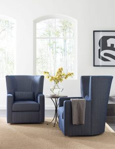 Fitzgerald Swivel Chair by Kincaid