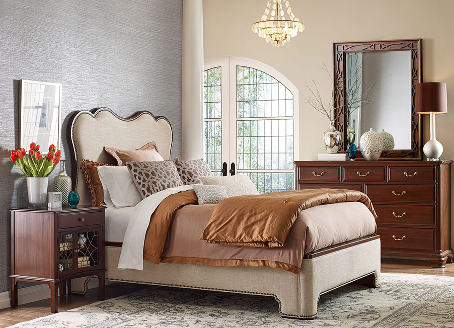 Hadleigh Upholstered Bed by Kincaid Bedroom Furniture ...