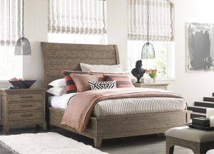 Plank Road Eastburn Sleigh Bed by Kincaid