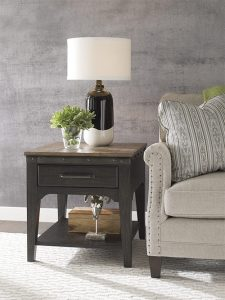 Plank Road End Table by Kincaid