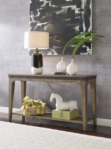 Plank Road Sofa Table by Kincaid