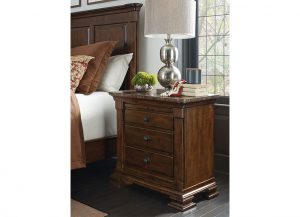 Portolone Bachelor's Chest with Marble Top by Kincaid