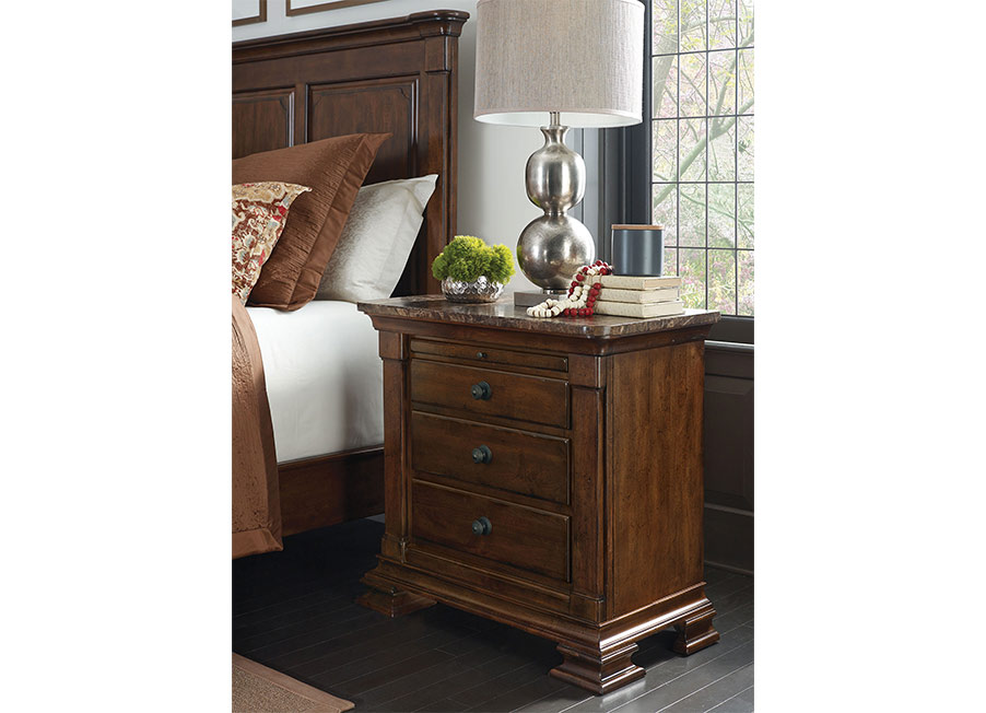 Portolone Bachelor\'s Chest with Marble Top by Kincaid Bedroom ...