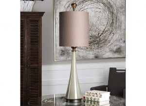 Revelation Arona lamp by Uttermost