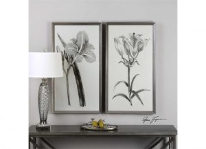 Sepia Flowers by Uttermost