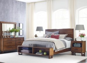 Traverse Live Edge Bed by Kincaid Bedroom Furniture Chattanooga TN