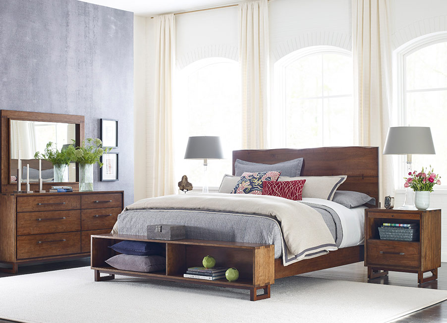 Traverse Live Edge Bed by Kincaid Bedroom Furniture ...