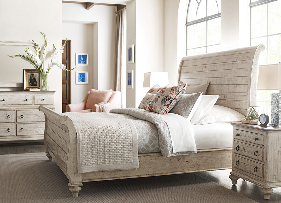 Weatherford Lyton Sleigh Bed by Kincaid Bedroom Furniture ...