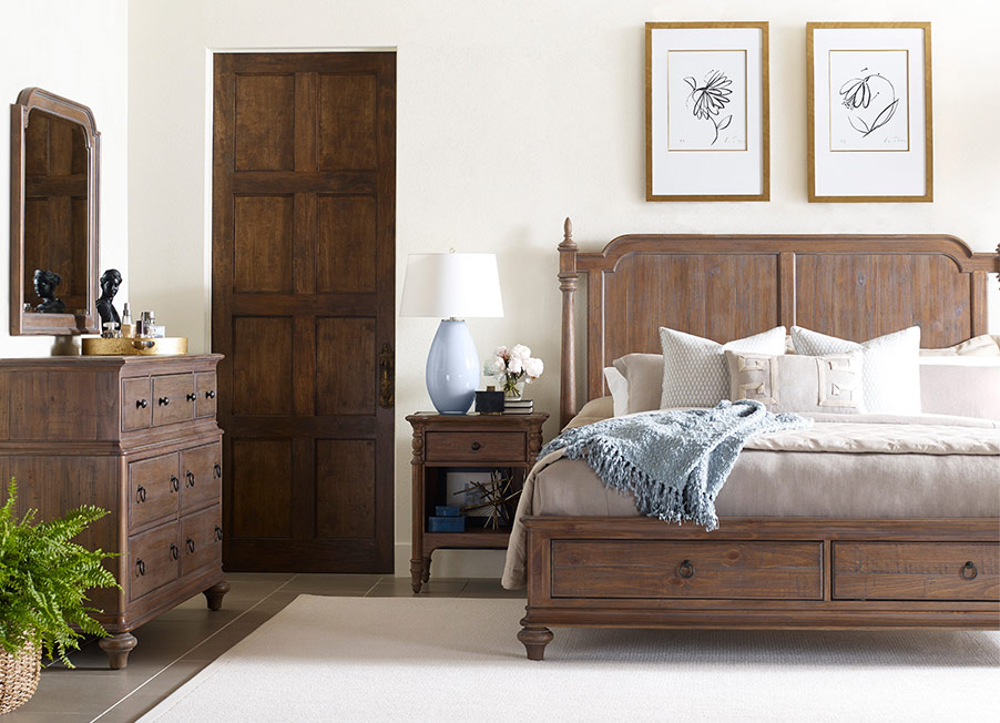 Weatherford Westland Bed by Kincaid Bedroom Furniture ...