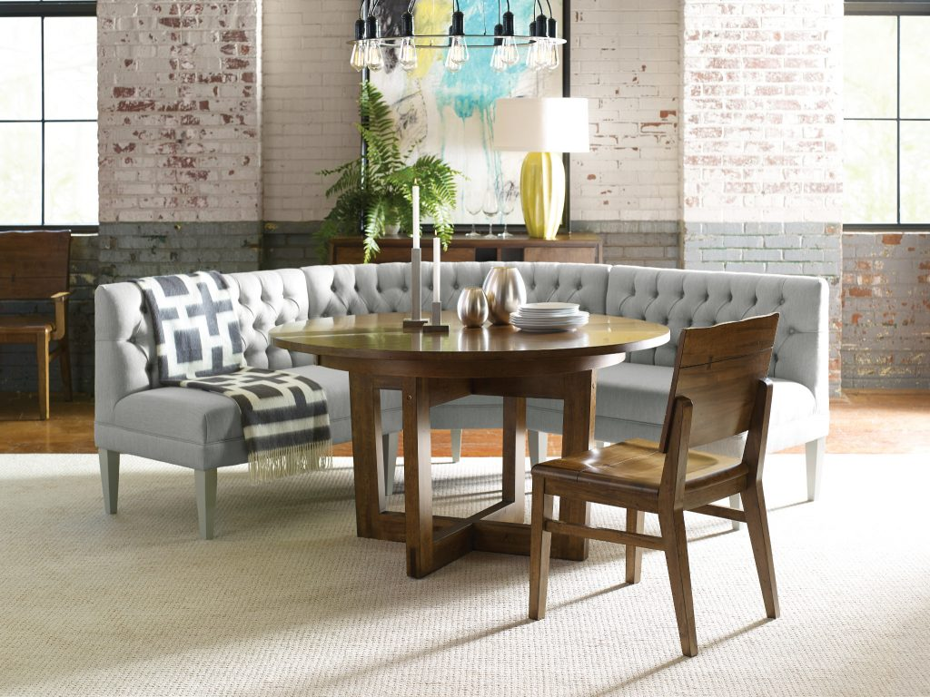 Stylish Dining in an Open Floor Plan