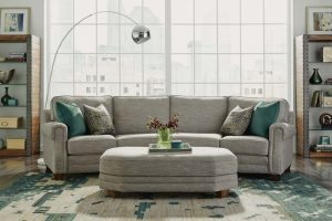 Flexsteel sectional sofa