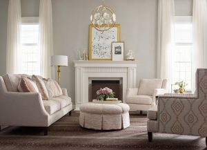 decorate around fireplace Kincaid