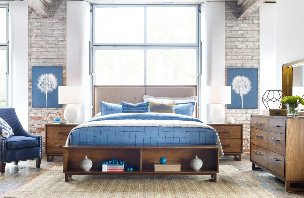 beautiful bedroom with color Kincaid 1