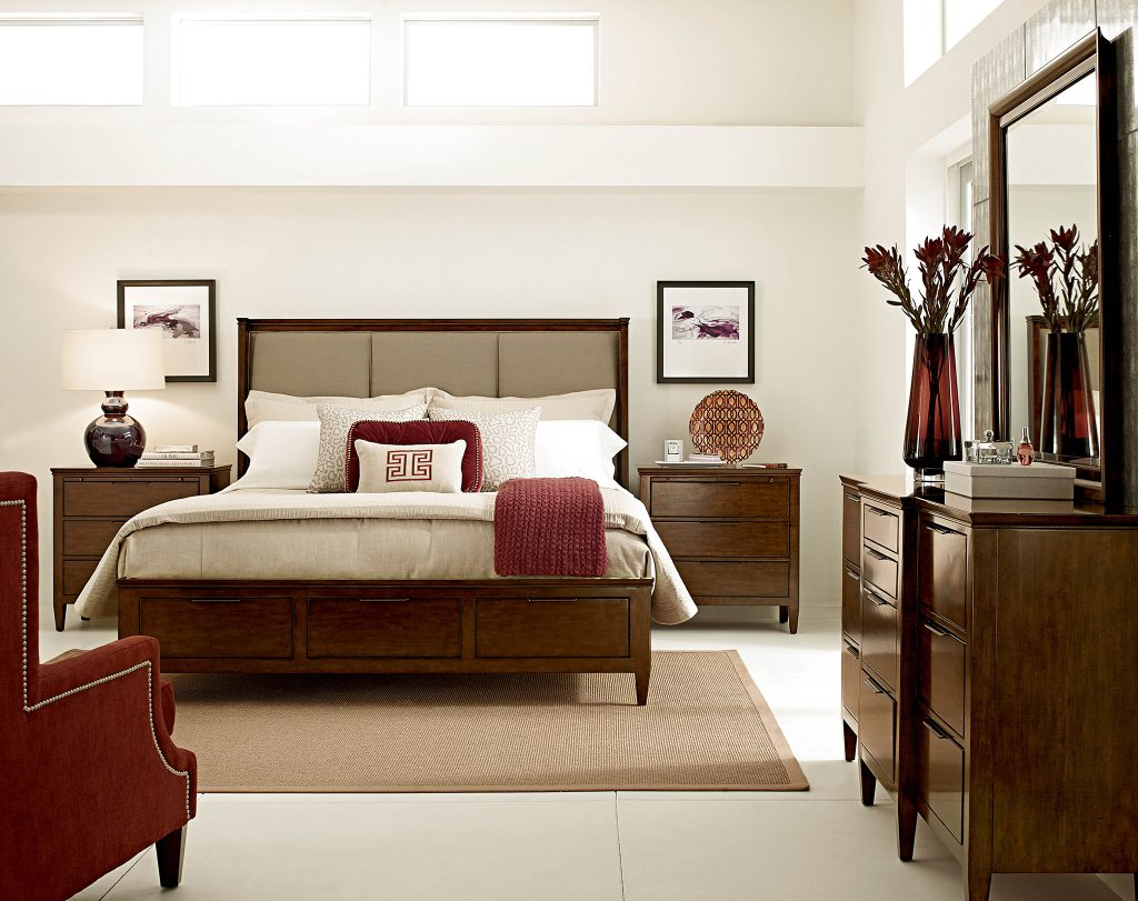 beautiful bedroom with color Kincaid Chattanooga Bedroom Furniture that Makes a Statement