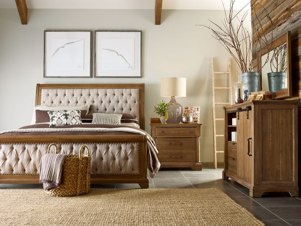 beautiful bedroom with color Kincaid 5