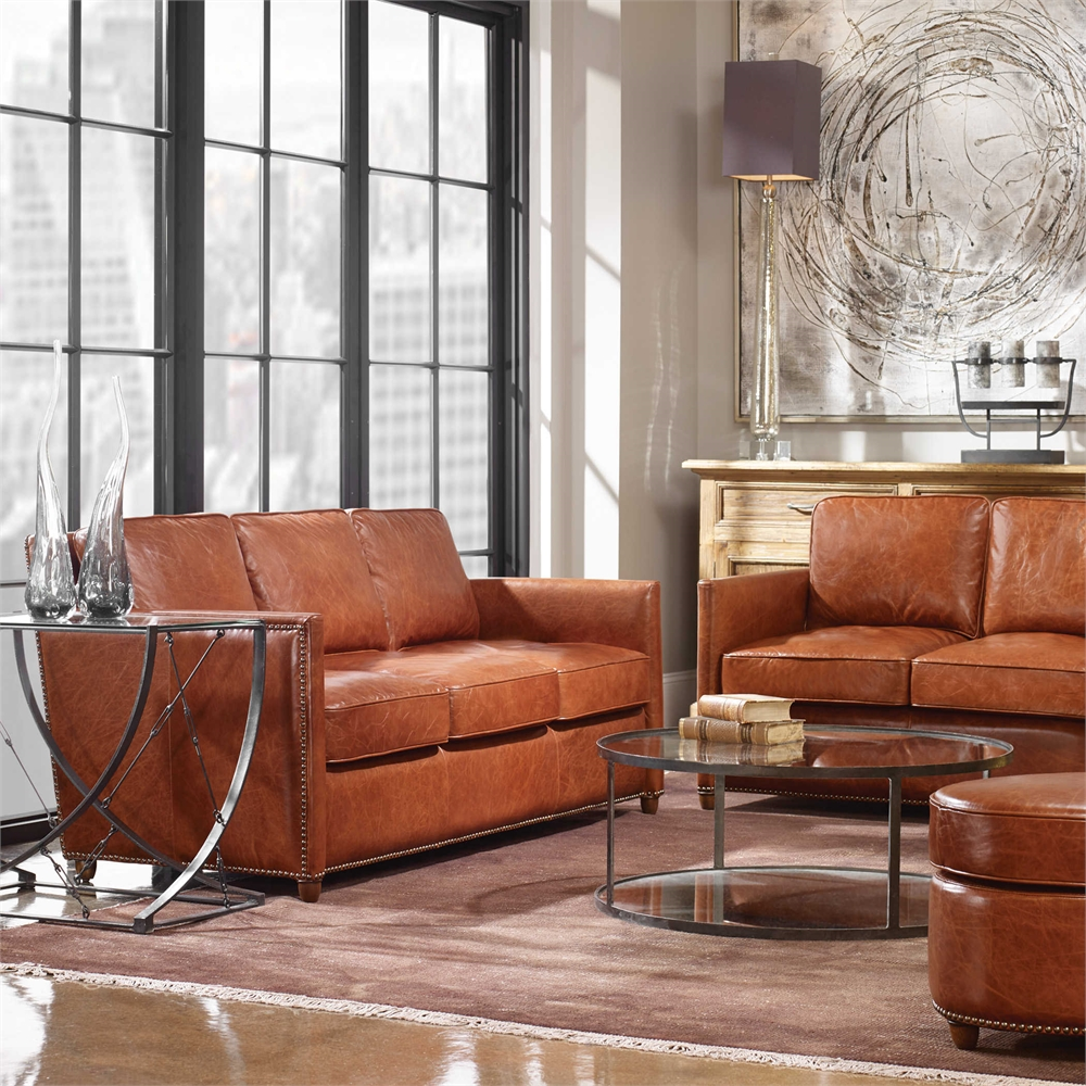 decorate with leather Uttermost 1