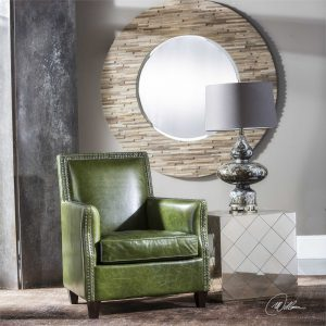 decorate with leather Uttermost 3