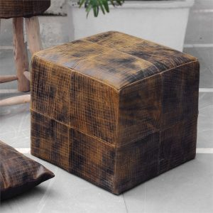 decorate with leather Uttermost 4