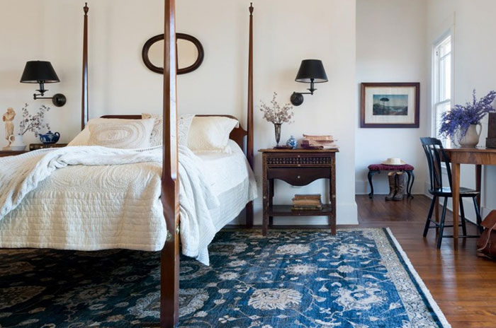 Blue Rugs For Bedroom - Rugs Ideas