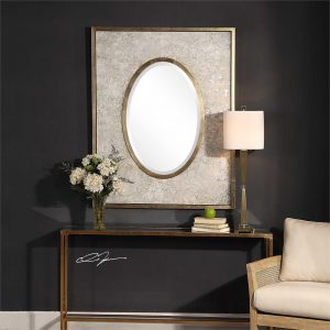 shake up decorating style Uttermost mirror