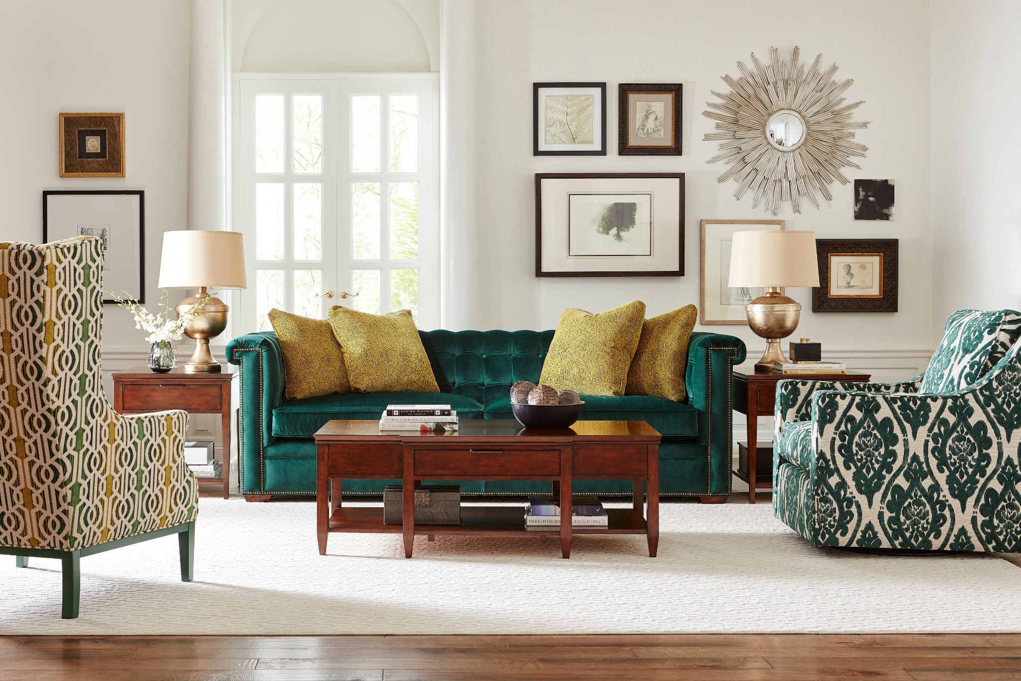 use green Furniture in Chattanooga to decorate