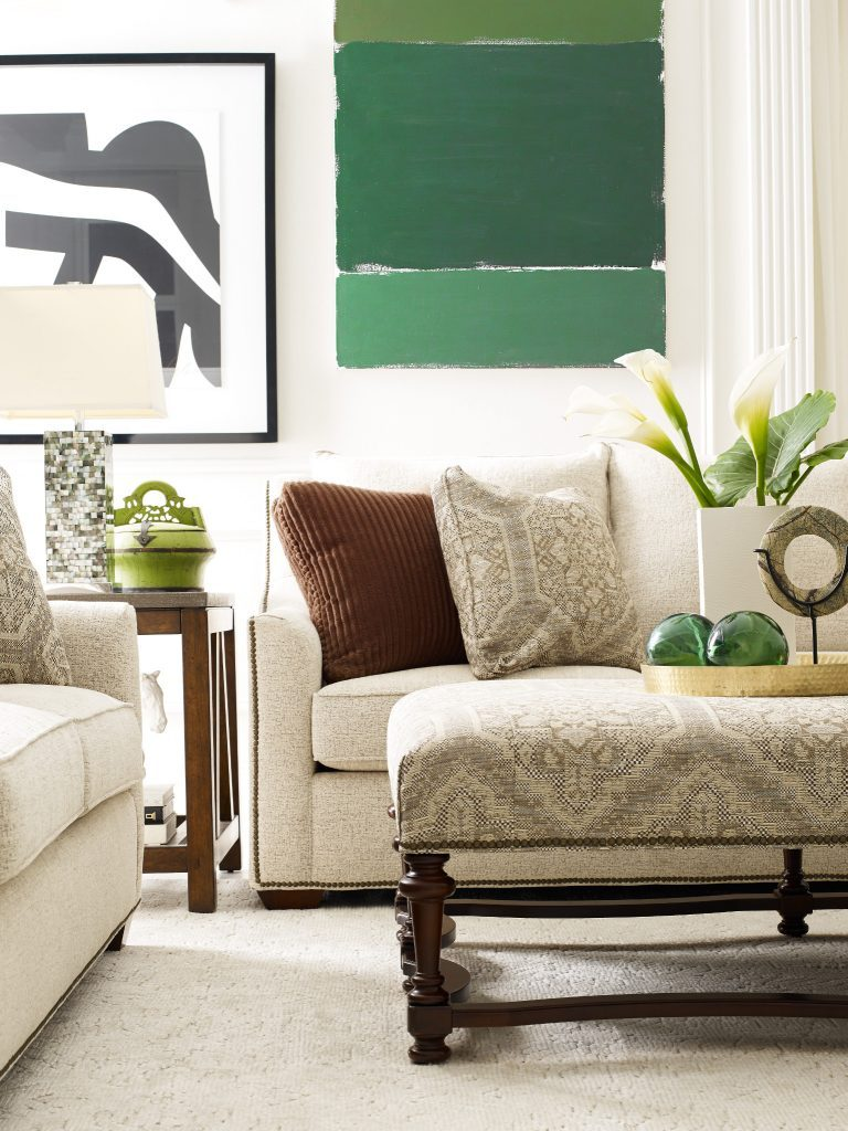 Use green to enhance your Furniture in Chattanooga