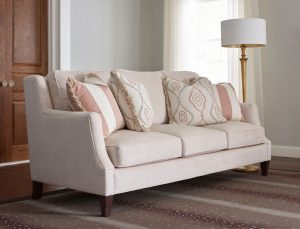 Pink couch Chattanooga Interior Design Tips