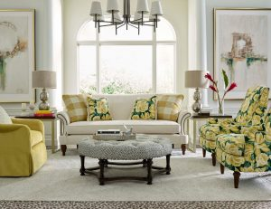 yellow trends for Chattanooga interior design Kincaid Furniture