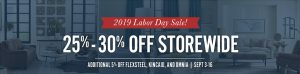 Furniture Labor Day Sale