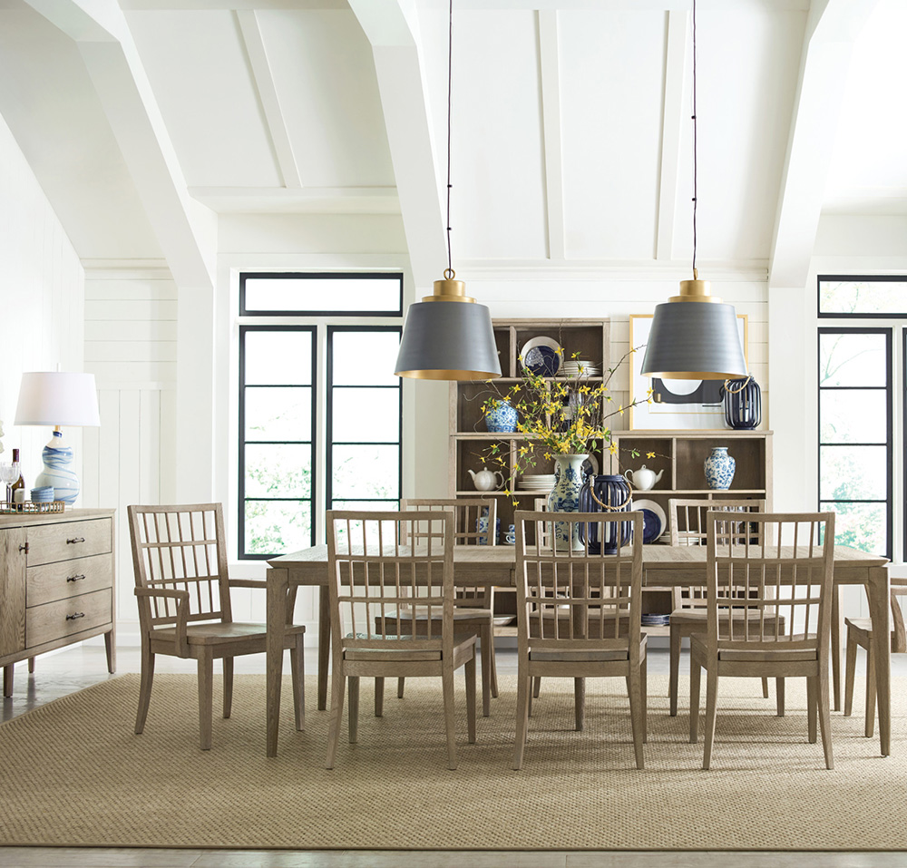 Chattanooga dining room furniture from EF Brannon can immediately elevate the entire look of your space.