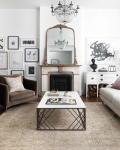 Updating Your Chattanooga Living Room Loloi accents