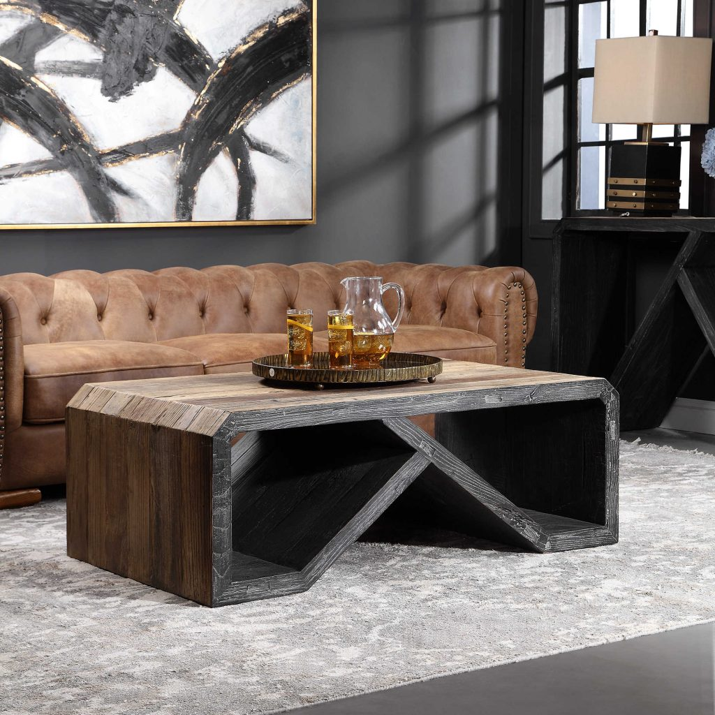 Add a bold style to your Chattanooga living room with this unusual coffee table from Uttermost. Find it at EF Brannon Chattanooga!