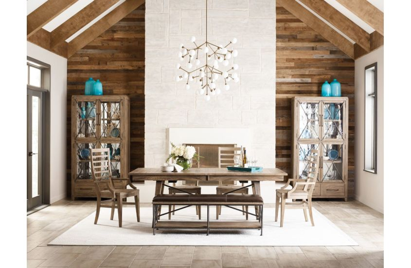 Style your Chattanooga home interiors with details like the Laredo dining table for sleek style and versatility.