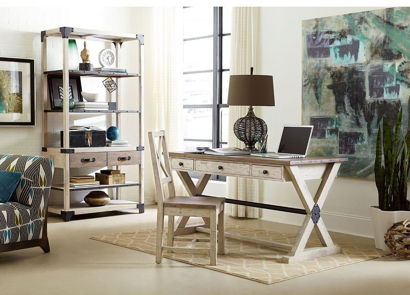 Get organized while you're working remotely with a great new Hammary desk for your home office. Find it through EF Brannon furniture shop in Chattanooga!